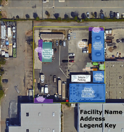 Site Map Example: Facility Site Maps Examples